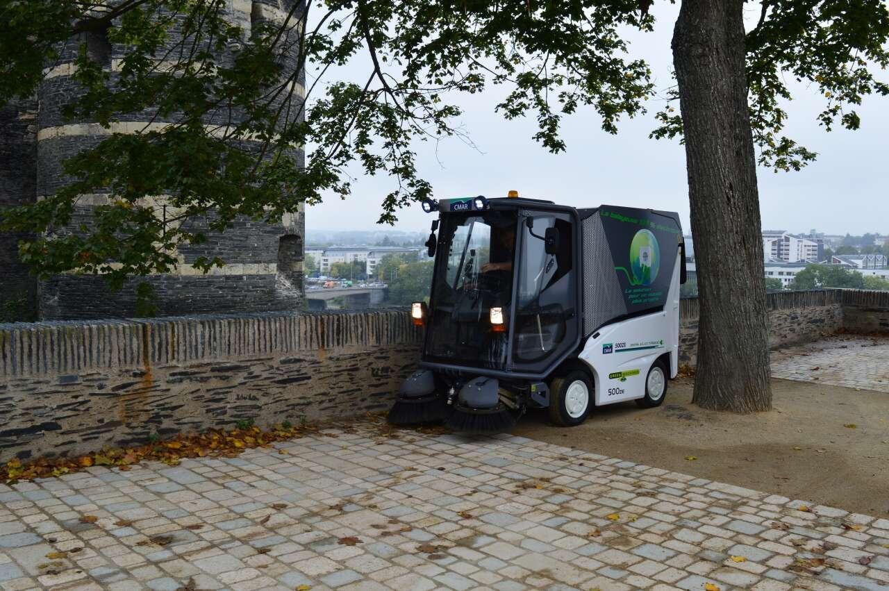 elektrische kehrmaschine green machines 500 ze (gm5)